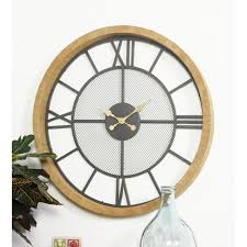 multi colored contemporary wall clock