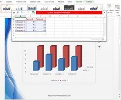 Comparison Chart Insert Chart Column 3d Column
