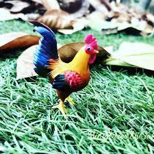 ไก่แจ้สวยงาม #ไก่ชนพม่า... - Miniatures by sukanyaa
