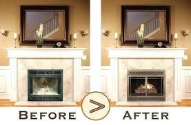 modern fireplace glass doors nickel brushed door replacement mi decorating gel