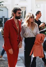 Elizabeth Olsen and Robbie Arnett seen ...
