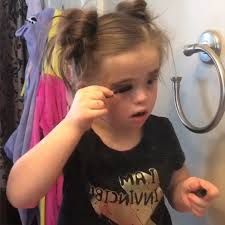 7 year old who sla the makeup game is back and it s all about the contour