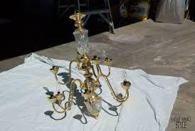 easy diy joanna gaines fixer upper chandelier
