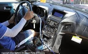 hyundai elantra interior 2013. spied 2013 hyundai genesis coupe interior gets its elantra on