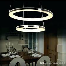 led dining room lighting led dining room lights modern led chandelier acrylic pendant lamp living room