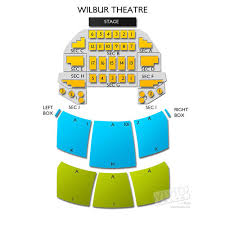 The Wilbur Seating Chart Awesome Wilbur Theatre Boston