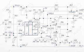 Drawing Electric Circuits Stunning Drawing Electric Circuits Components Electrical