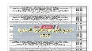 تنسيق الصنايع 2020-2021   تنسيق الدبلومات الثانوية الصناعية الكليات  والمعاهد المتاحة نظامي الـ3 والـ5 سنوات - موقع صباح مصر