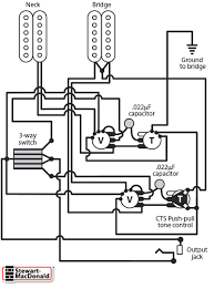 cts push pull pot diagram spst stewmac com the spst cts push pull pots allow you to coil cut the bridge pickup using a push pull tone control the other feature is that in the middle position of the