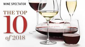 Wine Spectator Vintage Chart 2018 Top 10 Wines Of 2018 Wine Spectators Top 100