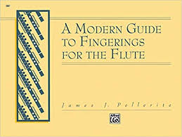 Oboe Tremolo Chart Amazon Com A Modern Guide To Fingerings For The Flute