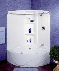 Wonderful Bathtubs Idea Stunning Corner Bathtubs For Small Spaces Corner  Pertaining To Corner Shower Tub Combo Modern