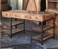 Image Writing Desk Park Hill Collections Vintagestyle Desk With Industrial Base Pinterest Park Hill Collections Vintagestyle Desk With Industrial Base