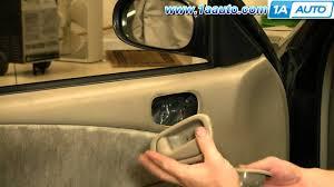 front door knob inside. How To Install Replace Inside Door Handle Toyota Corolla 98-02 1AAuto.com - YouTube Front Knob K