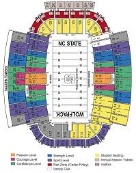 Louisville Seating Chart Football North Carolina State Wolfpack 2018 Football Schedule
