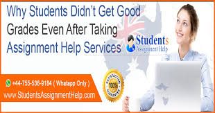 why students didn t get good grades even after taking assignment  there will be times in a student s life when they have many assignments due and they have to move to a writing service for help their assignments