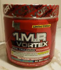 bpi 1 m r vortex pre powder blueberry lemon ice 50