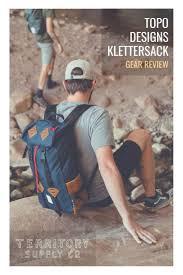 Topo Designs Denver Co Topo Designs Klettersack 22l Backpack Review Backpack