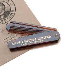 Captain Fawcett <b>Folding</b> Pocket Beard Comb - <b>Складная расческа</b> ...