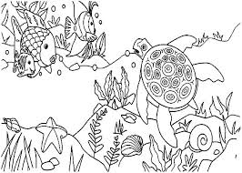 Coloring Coral Reef Coloring Pages Page Fish Mesmerizing Coral