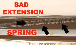 bad extension spring