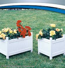 High Quality Vinyl Planter Boxes Superior Plastic Products