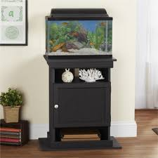 Ameriwood Home Midnight Onyx Flipper 10/ 20-gallon Aquarium Stand - Free  Shipping Today - Overstock.com - 18876859