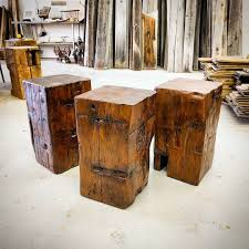 4x4 Wood Crafts Reclaimed Barn Beam Cubes By Barnboardstorecom For The Home