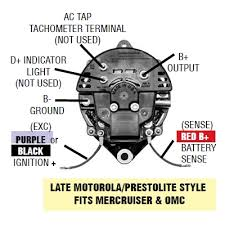 marine alternators explained arco late motorola style alternator wiring