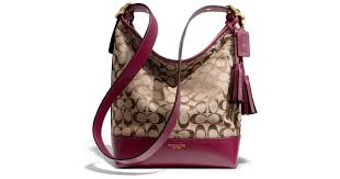 Lyst - Coach Legacy Duffle in Signature Fabric in Purple