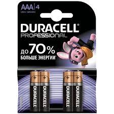 Купить <b>Батарея Duracell</b> Professional <b>AAA</b> LR03/MN2400 4шт. в ...