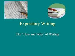 writing an expository essay intro to expository writing
