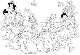 Disney Princess Coloring Pages Printable Free Coloring Pages Free