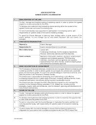 Resume Special Events Coordinator Resume Bunch Ideas Of Special