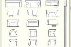 Office And Conferance Business Outline Furniture Icon Top View Furniture Icons For Floor Plans