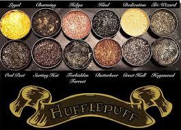 hufflepuff eye shadow palette