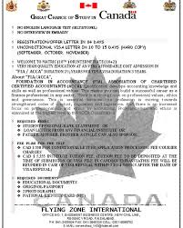 Canada Student Visas Flying Zone Intl Travel Tours