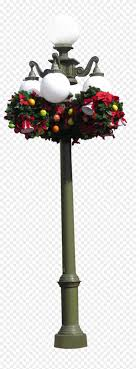 Fabulous Christmas Lamppost Clear Cut By With Png Lamp Christmas