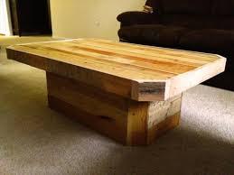 Pallet Coffee Table Unique Diy Pedestal Pallet Coffee Table Pallet Furniture  Diy