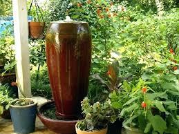big gardening pots full image for large glazed ceramic garden outdoor metal planters