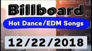 Billboard Top 50 Hot Dance Electronic Edm Songs December 22