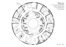 round house plans. Floor Circular House Plans Round