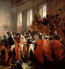 french directory bonaparte confronts the members of the council of five hundred on 10 1799