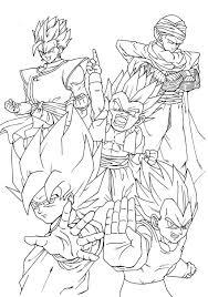 Coloriages Dragon Ball Z 10 Coloriage Dragon Ball Z Coloriages Pour Imprimer Ce Coloriage Gratuit Coloriages Dragon Ball Z L