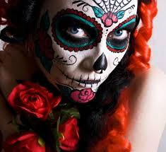 paint a decorative skull face for dia de los muertos or day of the dead these makeup video tutorials will help you get the perfect sugar skull look with
