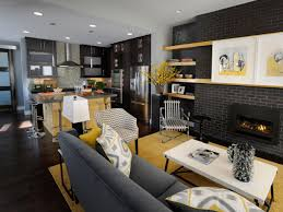Modern Living And Dining Room Design Living Room Best Hgtv Living Rooms Design Ideas Apartment Living