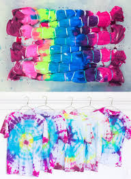how do you make dye for tie dye shirts