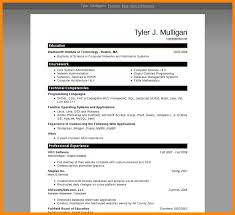 Microsoft Word 2007 Resume 16 Designs Of Free Resume Templates Microsoft Word 2007