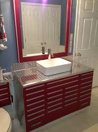 craftsman tool wall cabinet. craftsman tool box vanity with vessel sink wall cabinet
