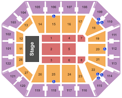 Oracle Arena Seating Chart Concert Skillful Mohegan Sun Concert Seating Oracle Arena Seating